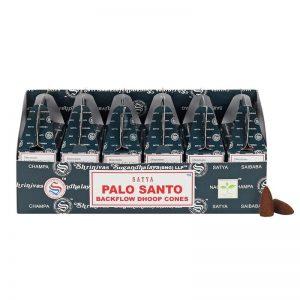Doosje met Palo Santo wierook kegels